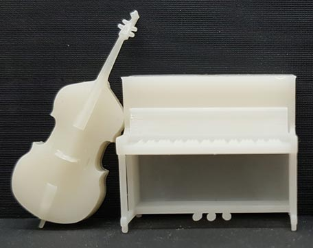 O scale music instruments